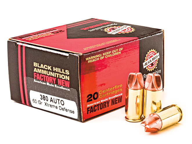ammo, ammunition, holster, holsters, Black Hills Xtreme Defense Ammo