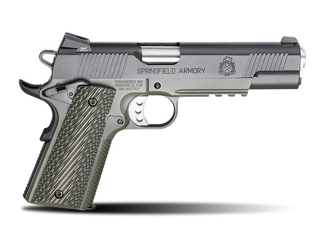 handgun, handguns, home defense handgun, home defense handguns, home defense pistol, home defense pistols, Springfield 1911 Loaded