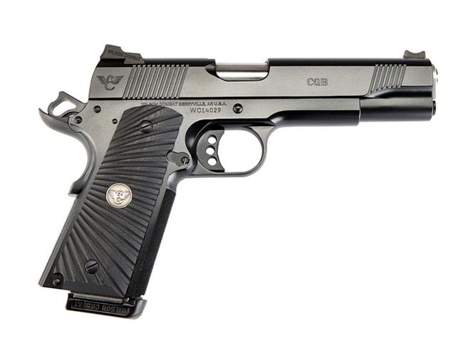 handgun, handguns, home defense handgun, home defense handguns, home defense pistol, home defense pistols, Wilson Combat CQB