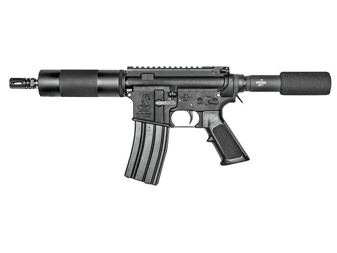 "handgun, handguns, home defense handgun, home defense handguns, home defense pistol, home defense pistols, Bushmaster XM-15 Patrolman's AR Pistol 7"""
