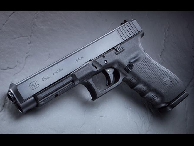 handgun, handguns, home defense handgun, home defense handguns, home defense pistol, home defense pistols, Glock 41 Gen4