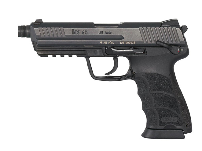 handgun, handguns, home defense handgun, home defense handguns, home defense pistol, home defense pistols, HK45 Tactical