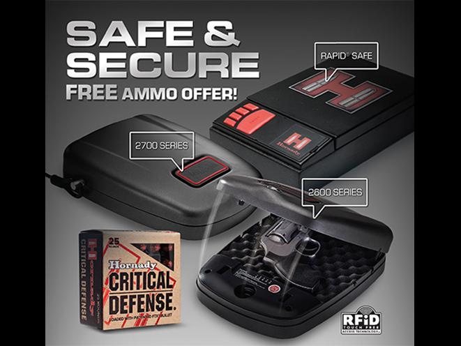 hornady, hornady safe and secure