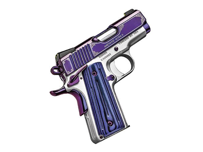 1911, 1911 pistol, 1911 pistols, Kimber Amethyst Ultra II