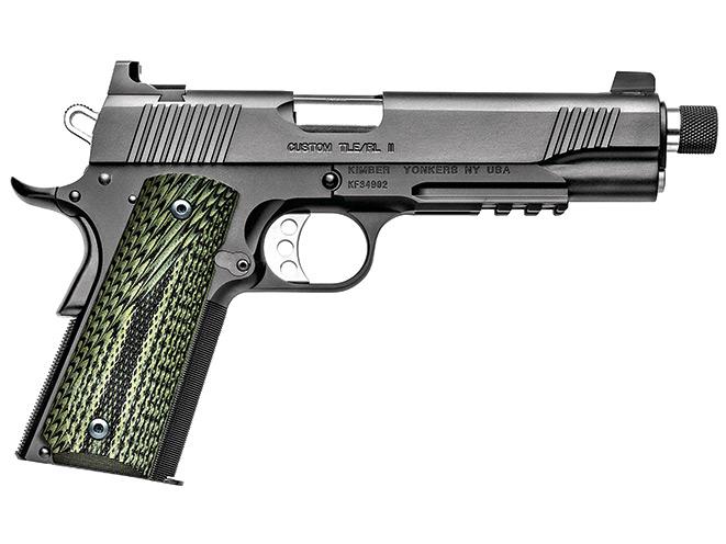 1911, 1911 pistol, 1911 pistols, Kimber Custom TLE/RL II (TFS)