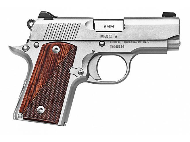 1911, 1911 pistol, 1911 pistols, Kimber Micro 9 Stainless