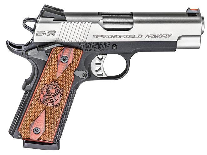 "1911, 1911 pistol, 1911 pistols, Springfield Armory EMP 4"" Lightweight Champion"