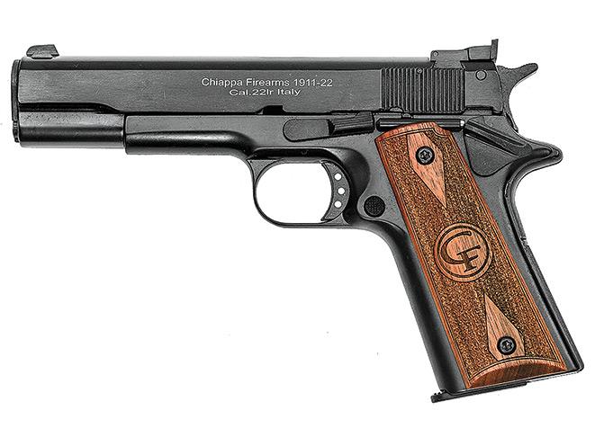 rimfire, rimfires, rimfire pistol, rimfire pistols, Chiappa 1911-22 Target