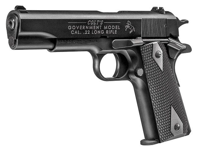 rimfire, rimfires, rimfire pistol, rimfire pistols, Walther Colt Government 1911 A1