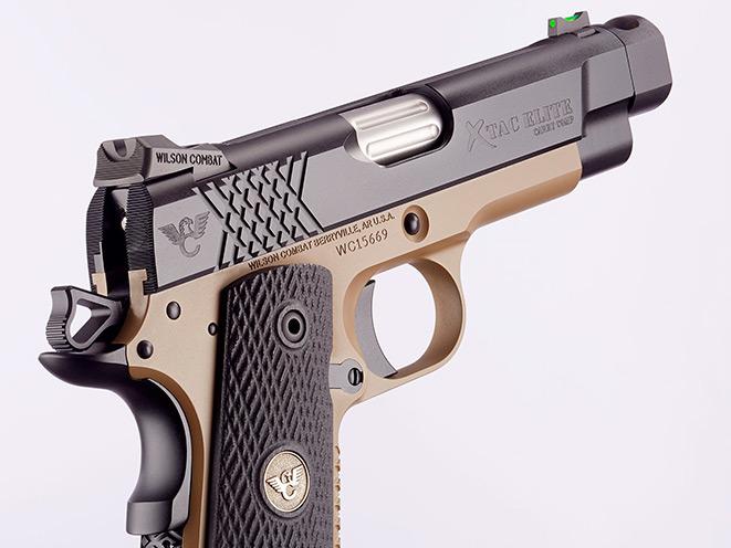 wilson combat, wilson combat x-tac elite carry comp, x-tac elite carry comp, wilson combat handgun, pistols, pistol, x-tac elite carry comp sights