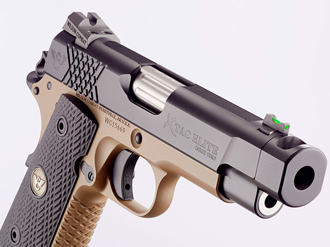wilson combat, wilson combat x-tac elite carry comp, x-tac elite carry comp, wilson combat handgun, pistols, pistol, x-tac elite carry comp front sight