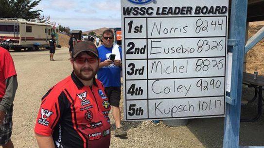 BJ Norris World Record Steel Challenge World Speed Shooting Championships