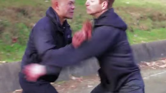 Master Wong Wing Chun Push Defense Techniques