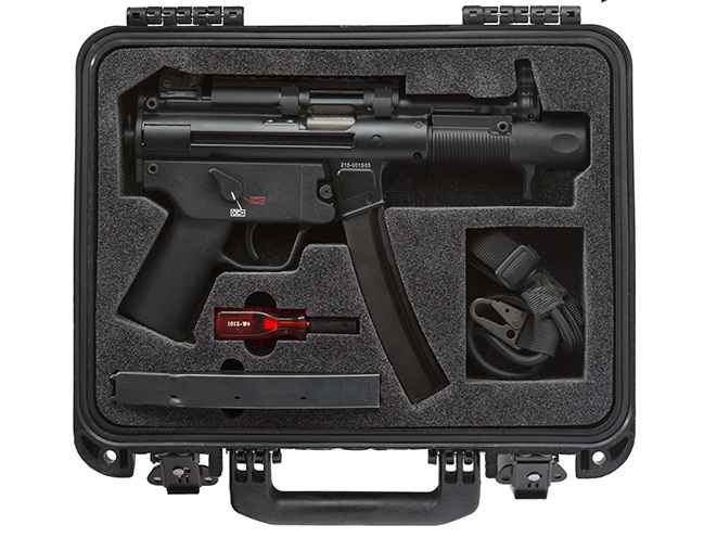 shooting gear, shooting accessories, shooting products, daniel defense dd magazine, gun magazine, heckler & koch SP5K, HK SP5K, heckler & koch, sp5k case