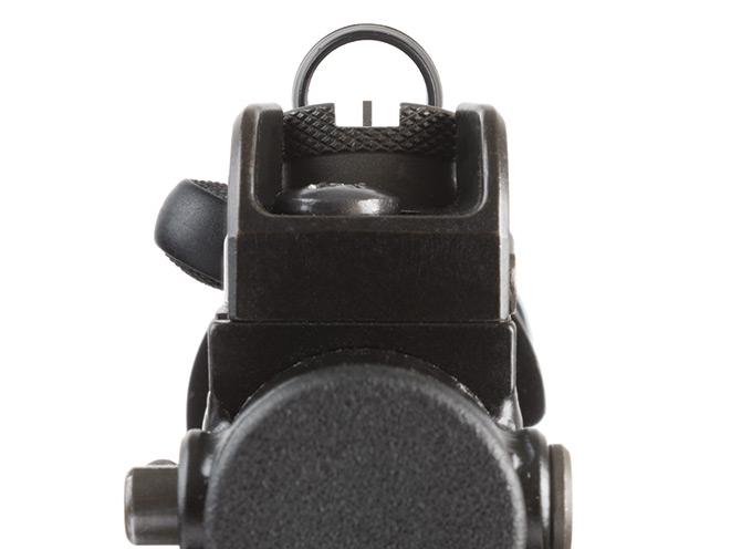 shooting gear, shooting accessories, shooting products, daniel defense dd magazine, gun magazine, heckler & koch SP5K, HK SP5K, heckler & koch, sp5k rear sight