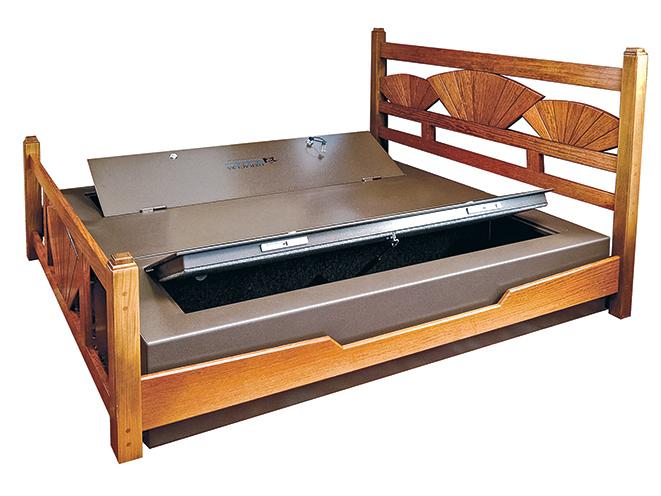 gun safe, gun safes, gun storage, storage, safe storage, Bed Bunker