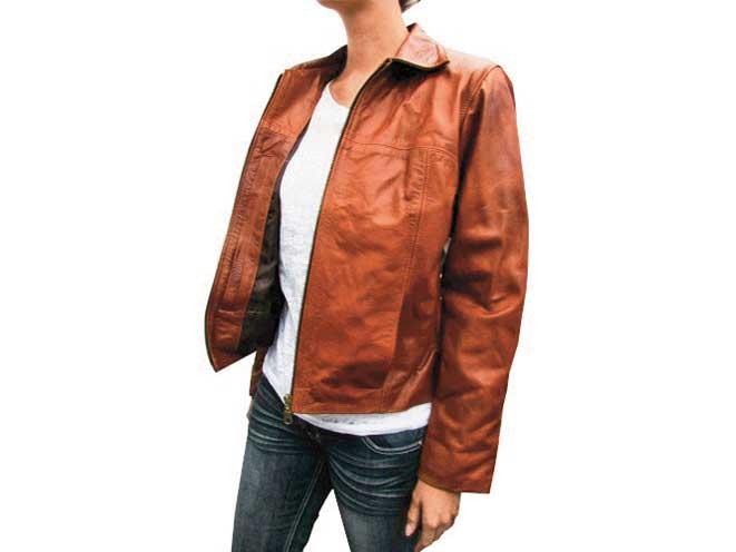 holsters, holster, gear, gun, guns, concealed carry, concealed, concelaed carry handgun, concealed carry handguns, Tagua Gunleather Women's Leather Jacket