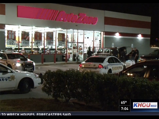 autozone armed robbery, armed robbery