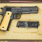 colt model 1911, 1911, model 1911, 1911 engraving, model 1911 gun engraving, f.t. fisher
