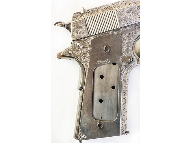 colt model 1911, 1911, model 1911, 1911 engraving, model 1911 gun engraving, pistol engraving