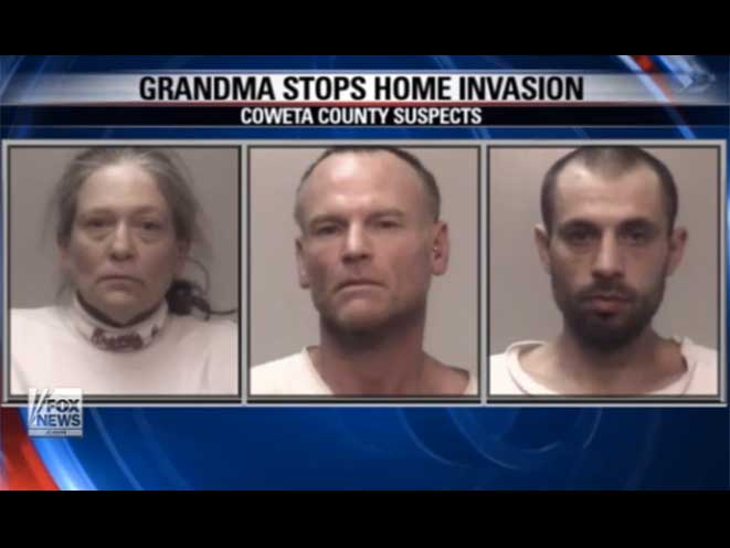 elaine stiehl scares off burglars