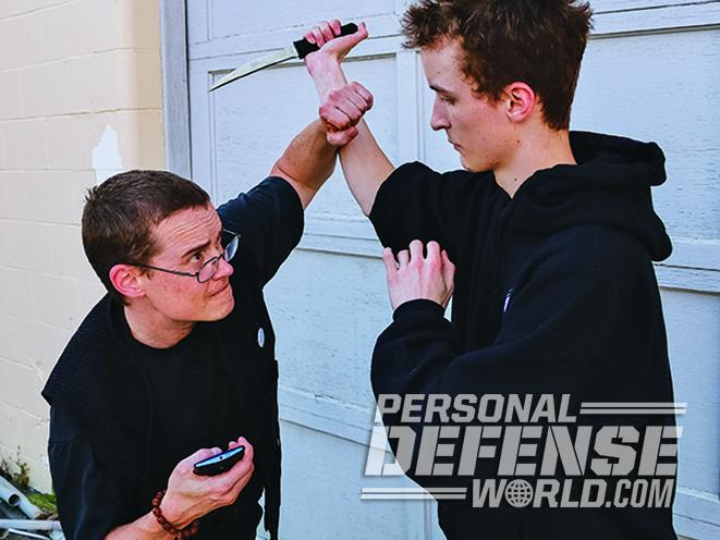 cell phone improvised weapons