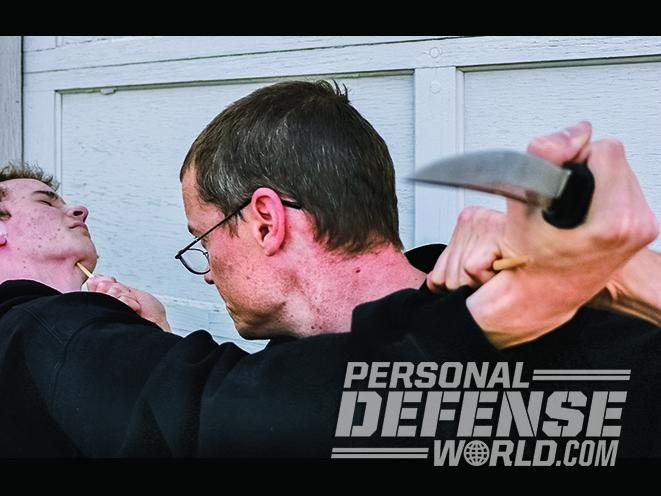 improvised weapons attack