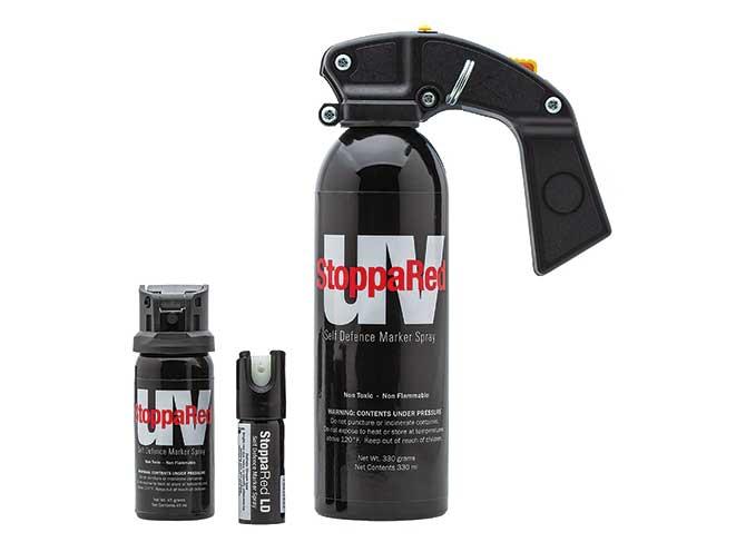 pepper spray sizes