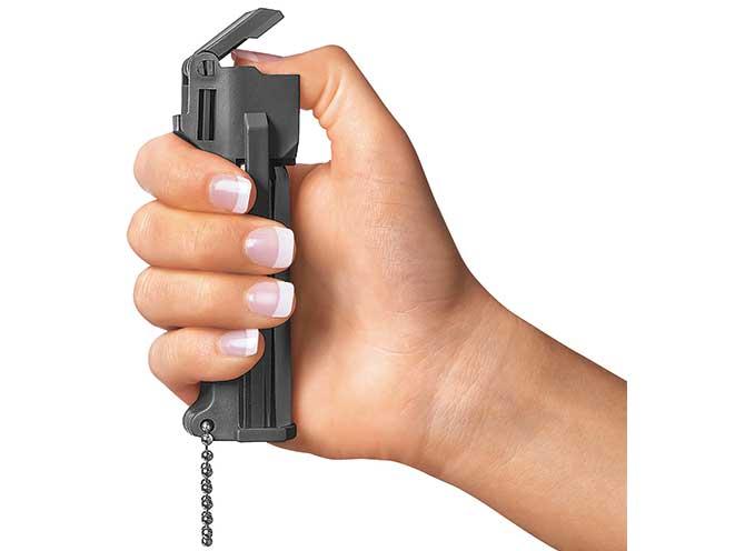 pepper spray safety switch