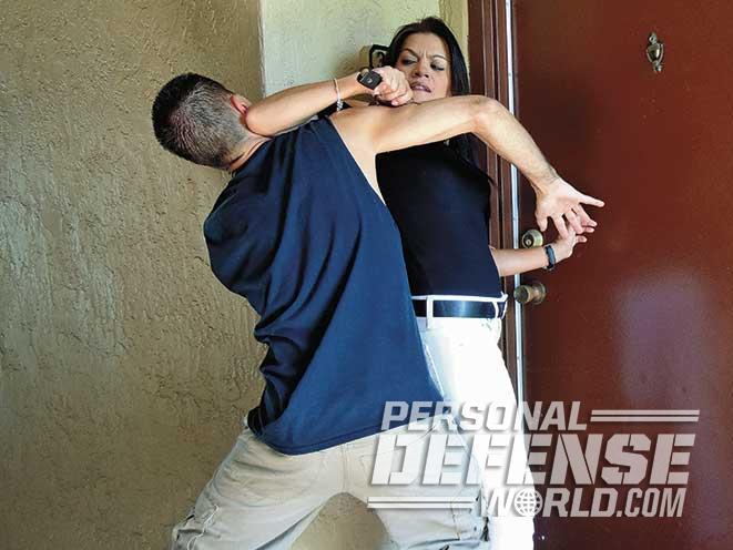pepper spray attack