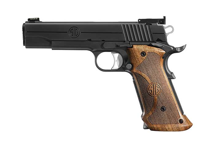 Sig Sauer 1911 NITRON SUPER TARGET pistol
