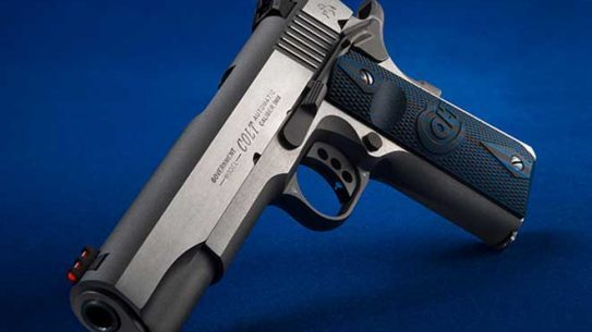 colt competition pistols stainless steel