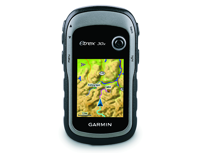 survival gear Garmin eTrex 30x