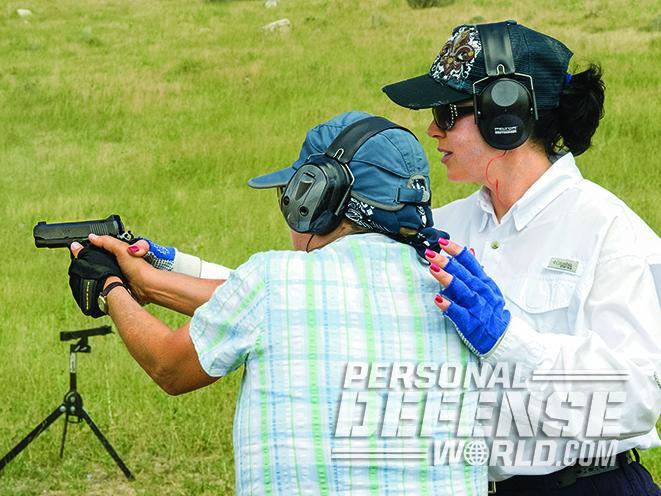 full-size handgun tips
