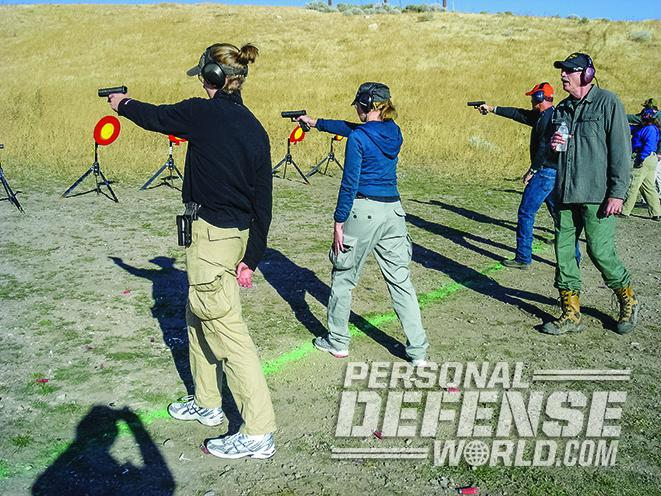 full-size handgun shooting tips
