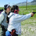 full-size handgun range training