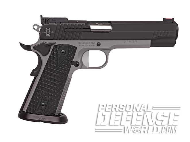 sig sauer 1911 max handgun