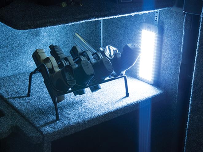 lockdown's cordless LED Vault Lights