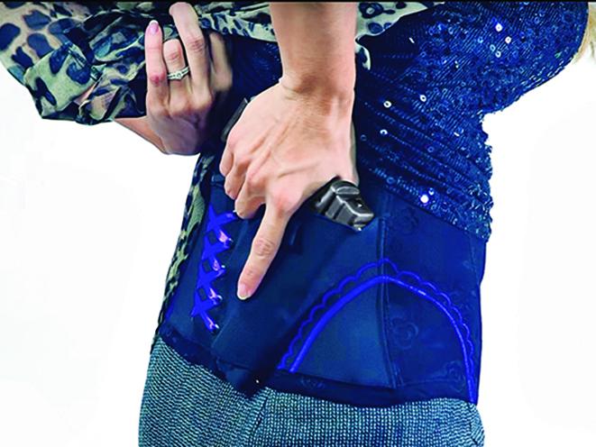 deep concealment corset holster