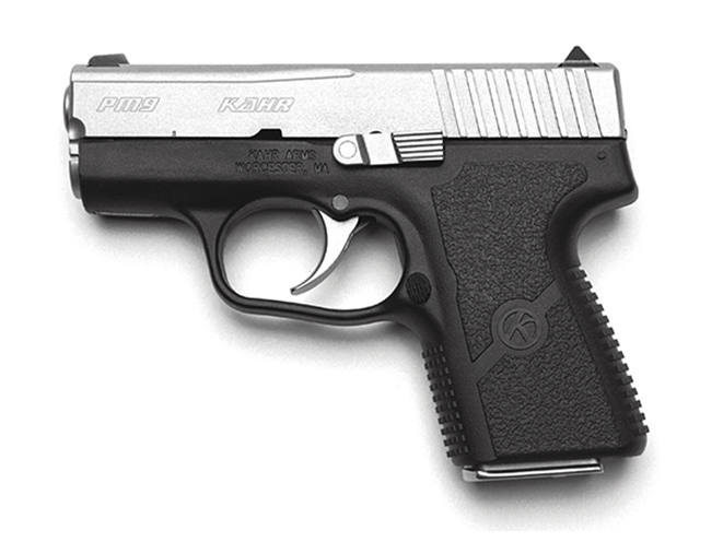 Kahr PM9 pocket pistols