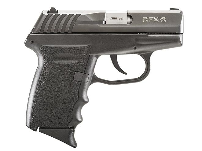 SCCY CPX-3 pocket pistols