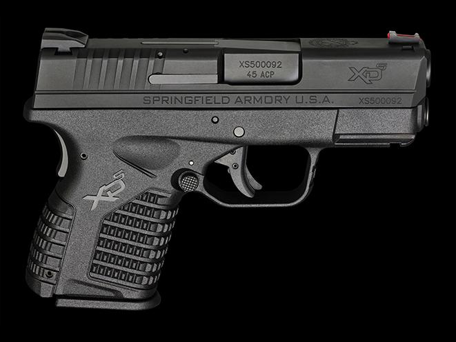 Springfield XDS pocket pistols