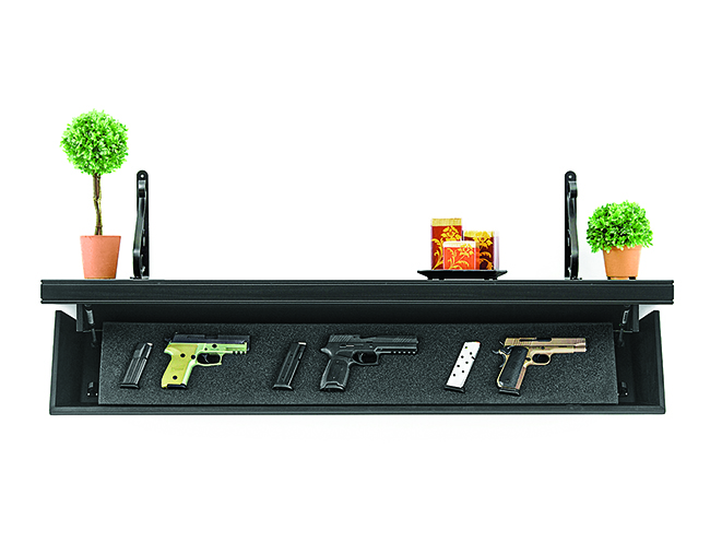 tactical walls gun safes