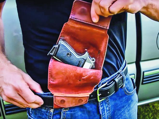 deep concealment urban carry holster