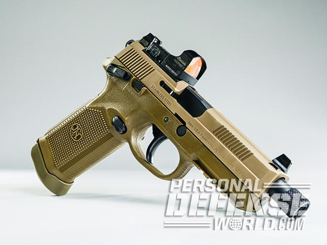 The FNX-45 Tactical pistol