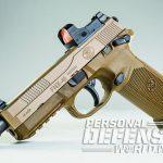 The FNX-45 Tactical handgun