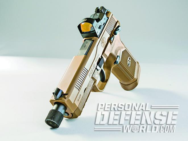 The FNX-45 Tactical slide