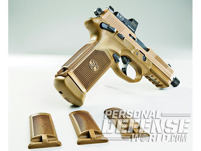 The FNX-45 Tactical backstrap panels