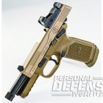 The FNX-45 Tactical barrel