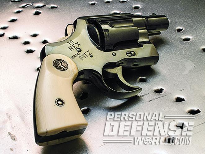 custom new fitz special revolver